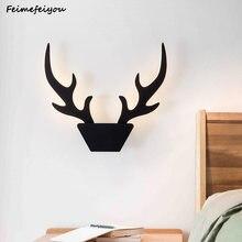 Настенный светильник светодиодный настенный с рогами скандинавский