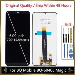Dla BQ BQ 6040L komórkowego magia BQ6040L BQ 6040L BQ 6040L wyświetlacz LCD z zespół ekranu dotykowego dla BQ 6040|lcd display screen|display screen5 screen -