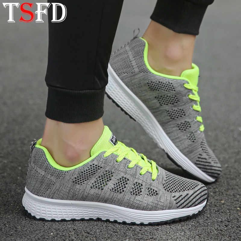 ตาข่ายรองเท้าผู้หญิงรองเท้าผ้าใบ 2020 Low Top Sportyรองเท้าผู้หญิงเพิ่มรองเท้าวิ่งLace Upกีฬารองเท้าสำหรับผู้หญิงรองเท้าV15