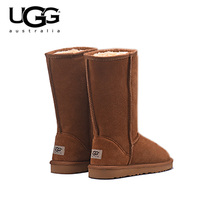 2018 Original New Arrival UGG Boots 5815 Women uggs snow shoes Sexy Winter Boots UGG Women's Classic Leather Tall Snow Boot