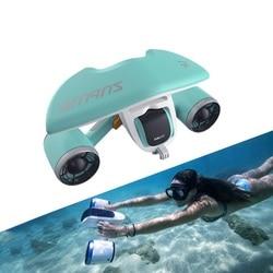 Подводный Дрон, электрический двигатель для плавания, артефакт, самоходный бустер для дайвинга, оборудование для дайвинга, 1,5 м/с, игрушки дл...