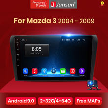 Junsun V1 2G + 32G Android 9,0 DSP Auto Radio Multimedia Video Player Für Mazda 3 2004-2009 Mazda3 Navigation GPS 2 din DVD