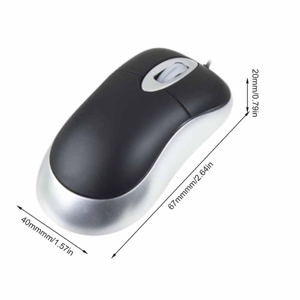 1 adet USB optik kaydırma geri çekilebilir İnce dizüstü için fare pc toptan StoreHot yeni varış