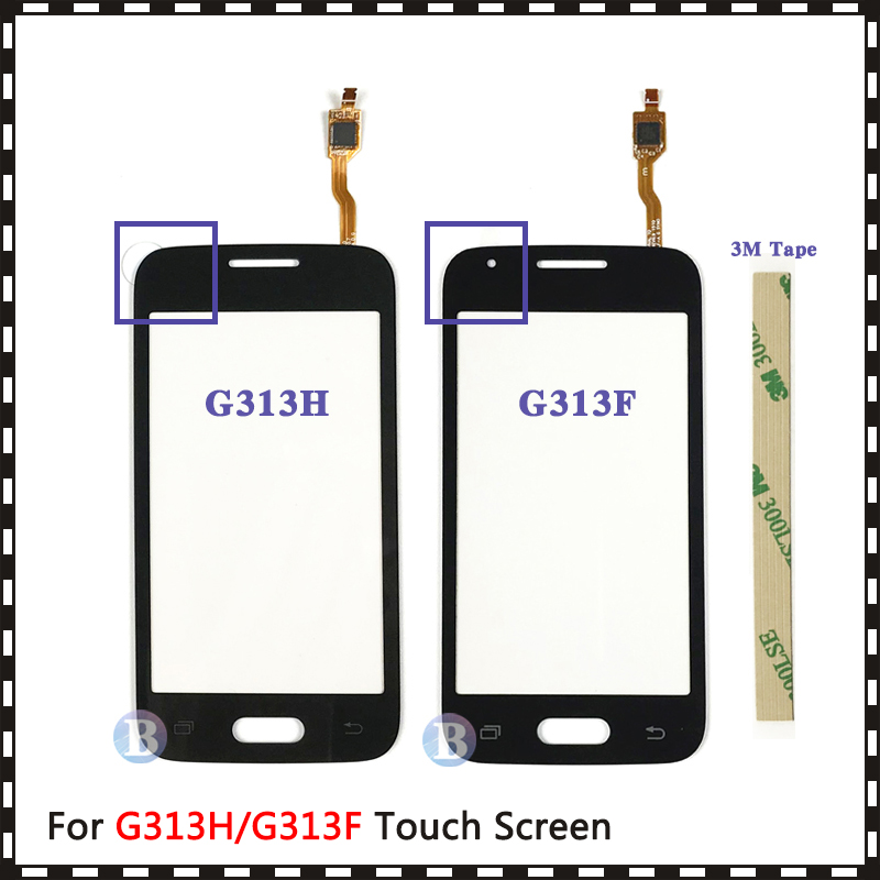 For Samsung Galaxy DUOS Ace 4 G313 G313F G313H Or G316 G316H G316F Touch Screen Digitizer Sensor Outer Glass Lens Panel