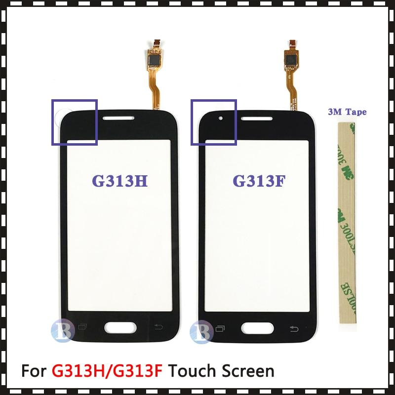 For Samsung Galaxy DUOS Ace 4 G313 G313F G313H Or G316 G316H G316F Touch Screen Digitizer Sensor Outer Glass Lens Panel