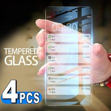 4pcs/Lot Tempered Glass Screen Protector For Xiaomi F2 F1 9 8 se 6X A3 A1 A2 Lite 6 5X MiA3 Mi9 Mi8 Mi9T Mi6X MiA1 MiA2 Mi6 Film(China)