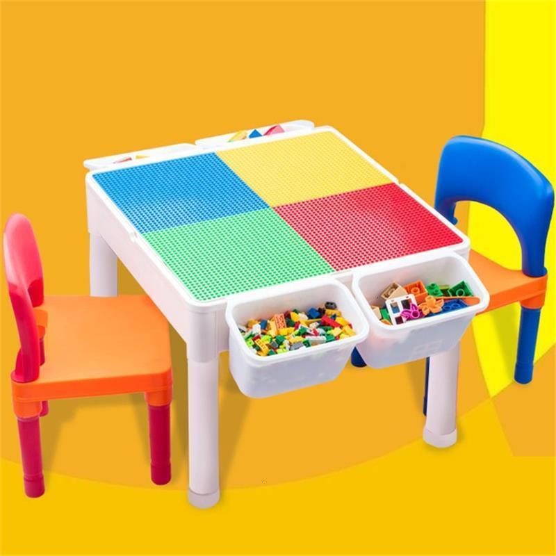 Desk Estudo Play And Chair Tavolino Bambini De Plastico Game Kindergarten Study For Kinder Enfant Mesa Infantil Kids Table