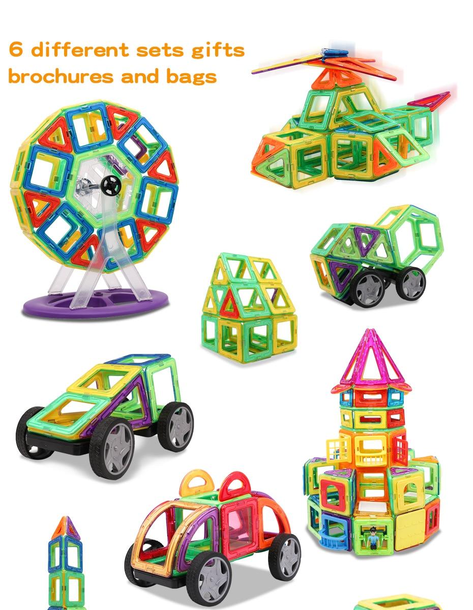 de construção modelo & construção brinquedo ímãs