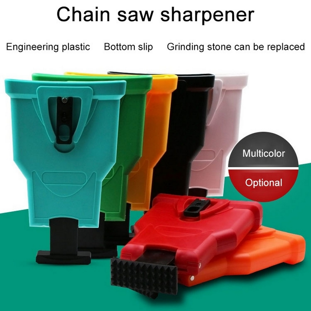 "For Woodworking 14~16/"" Chain Chainsaw Teeth Sharpener File Power Sharp Bar-Mount"