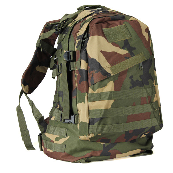 Outdoor Field Operations Camouflage Backpack 3D Assault Backpack Travel Mountain Climbing Backpack Tactical Backpack
