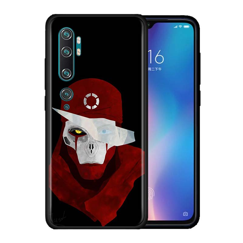New Game Apex Legends Case For Xiaomi Mi Note 10 9 9T Pro 5G CC9 CC9E 8 A3 A2 Lite Poco X2 F1 Black Soft Phone Cover Bags