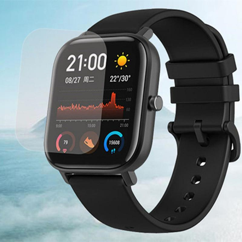 For <font><b>Amazfit</b></font> GTS Screen Protector Guard For Huami <font><b>Amazfit</b></font> GTS Strap Smart Watch <font><b>Film</b></font> Cover Smart Bracelet Accessories image