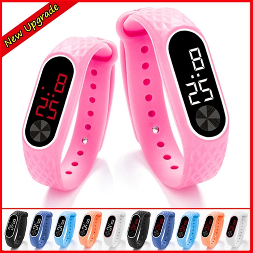 Watch Children Clock Bracelet LED Digital Girls Electronic Sport Boys NEW for Wrist