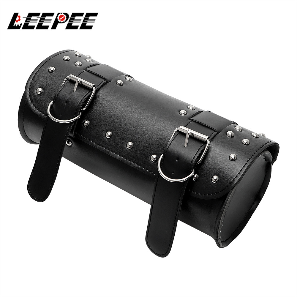 Motorcycle Bag Moto Backpack Saddle bag PU Leather Motor Luggage Storage Pouch Tank Bag Motorcycle Accessories