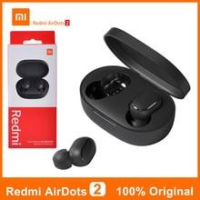 Originele Air Dots 2 Xiaomi Redmi Airdots 2 S Sport Oortelefoon 5.0 Bluetooth Hoofdtelefoon Tws Oordopjes Voor Xiaomi Mi 11 10