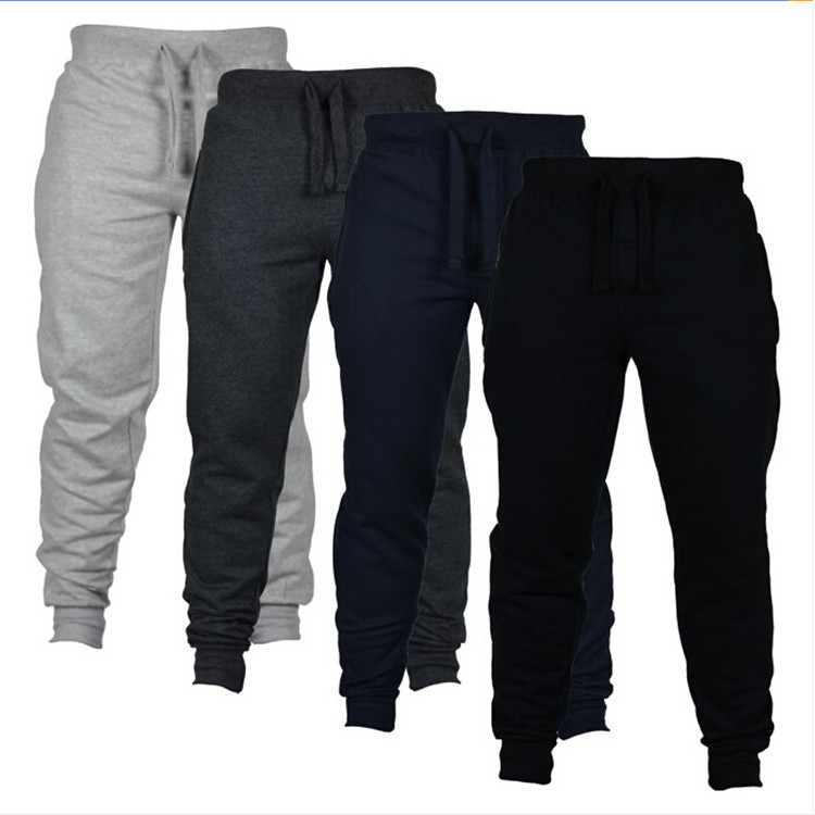 Jogging Pants Men Casual Sport Pencil Pants Cotton Soft Hiking Sweatpants Gym Fitness Training Running Workout Trousers Male