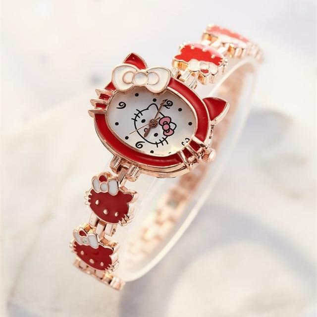 2019 nova reloj crianças relógios para meninas dos desenhos animados adorável pulseira estudante menina relógio bonito relógio de quartzo presente aniversário alta qualit 3
