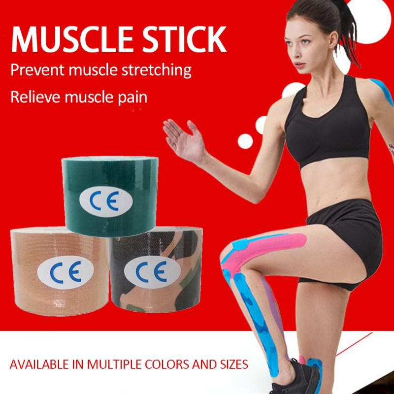 100mm 5m Kinesiology Tape Athletic Recovery Muscle Elastic Bandage
