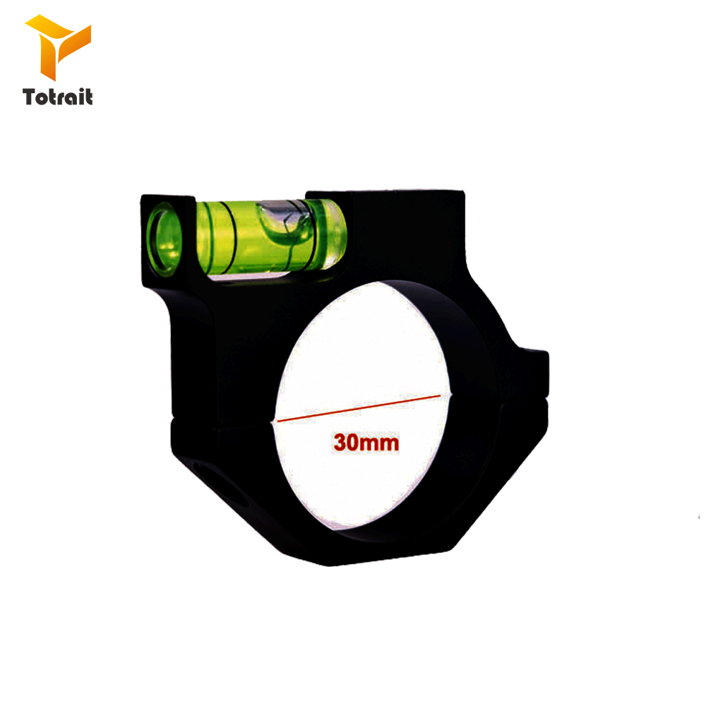 Spirit Level Bubble Fit 30mm Scope Ring Mount Holder For Rifle Laser Hunting