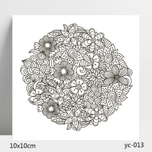 AZSG Leaf FLOWER Clear Stamps/Stamp/For Scrapooking/Card Making/Silicone Stamps/Decoration  Crafts