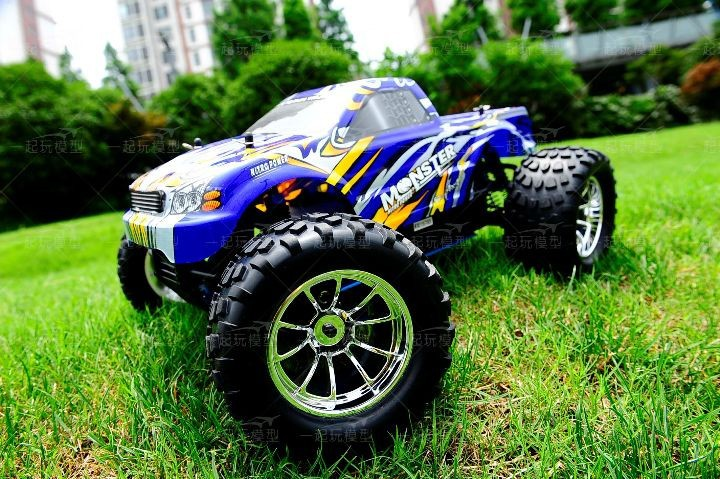 Free shipping RC Monster HSP 94188 Nitro 4WD 2.4GHz 110 RTR RC CAR Big Foot d4
