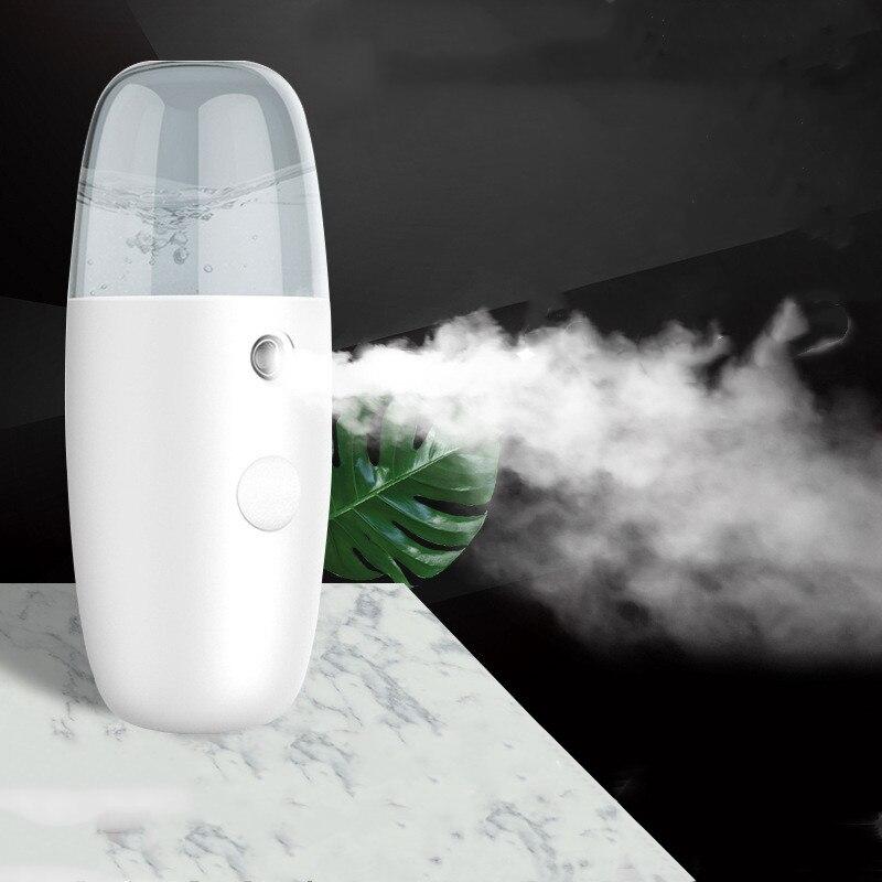 Отпариватель для лица USB мини портативный нано распылитель туман увлажнитель для лица увлажняющий красота уход за кожей Инструменты устрой...