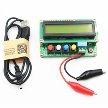 New Lc100-A Digital LCD High Precision Inductance Capacitance Meter Capacitor Tester Frequency 1Pf-100Mf 1Uh-100H Lc100-A+Te l c f inductance capacitance high precision meter lc 100s new