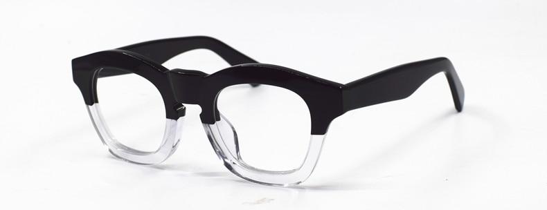 Японская ручная работа итальянский ацетатная оправа для очков