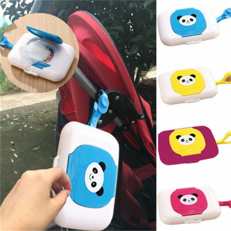 2020 Brand New Outdoor Travel Baby Newborn Kids Wipe Case Box Wet Wipes Dispenser Box Bag Wet Paper Towel Box