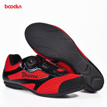 BOODUN Cycling Shoes  mtb mountain Road Bicycle Breathable Outdoor Sport men and women Cycling Shoes Non-Slip No-Lock Equipment boodun breathable mountain cycling shoes leisure sports outdoor mtb road bike bicycle lock riding shoes women