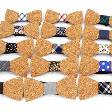 Мужской галстук-бабочка из древесины для мужчин в горошек галстуки-бабочки Gravatas corbatas бизнес бабочка галстук для Свадебный деревянный галстук