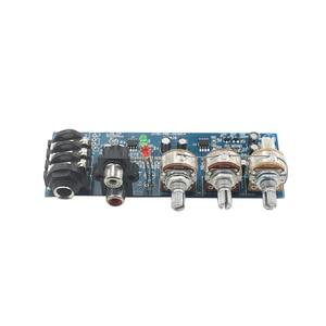 Image 4 - ميكروفون أحادي القناة ومقبس صوت ثنائي القناة ، ومضخم صوت ثنائي القناة ، وتعديل ثلاثي القوائم EQ Bass