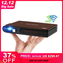 Caiwei S6W Portable Pocket Mini 3D DLP Projector LED Home Cinema Support HD Vide