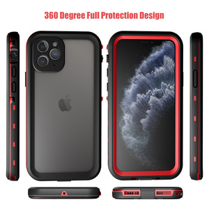Image 5 - SHELLBOX Waterproof Case For iPhone 11 Pro Max 360 Protector Cover Shockproof Swimming Diving Coque for iPhone11 Underwater Case