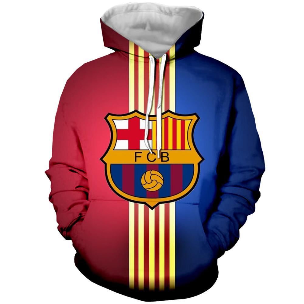 Sudadera con capucha de fútbol a la moda con estampado 3D CON CAPUCHA DE FÚTBOL informal uniforme ropa deportiva para fanáticos,