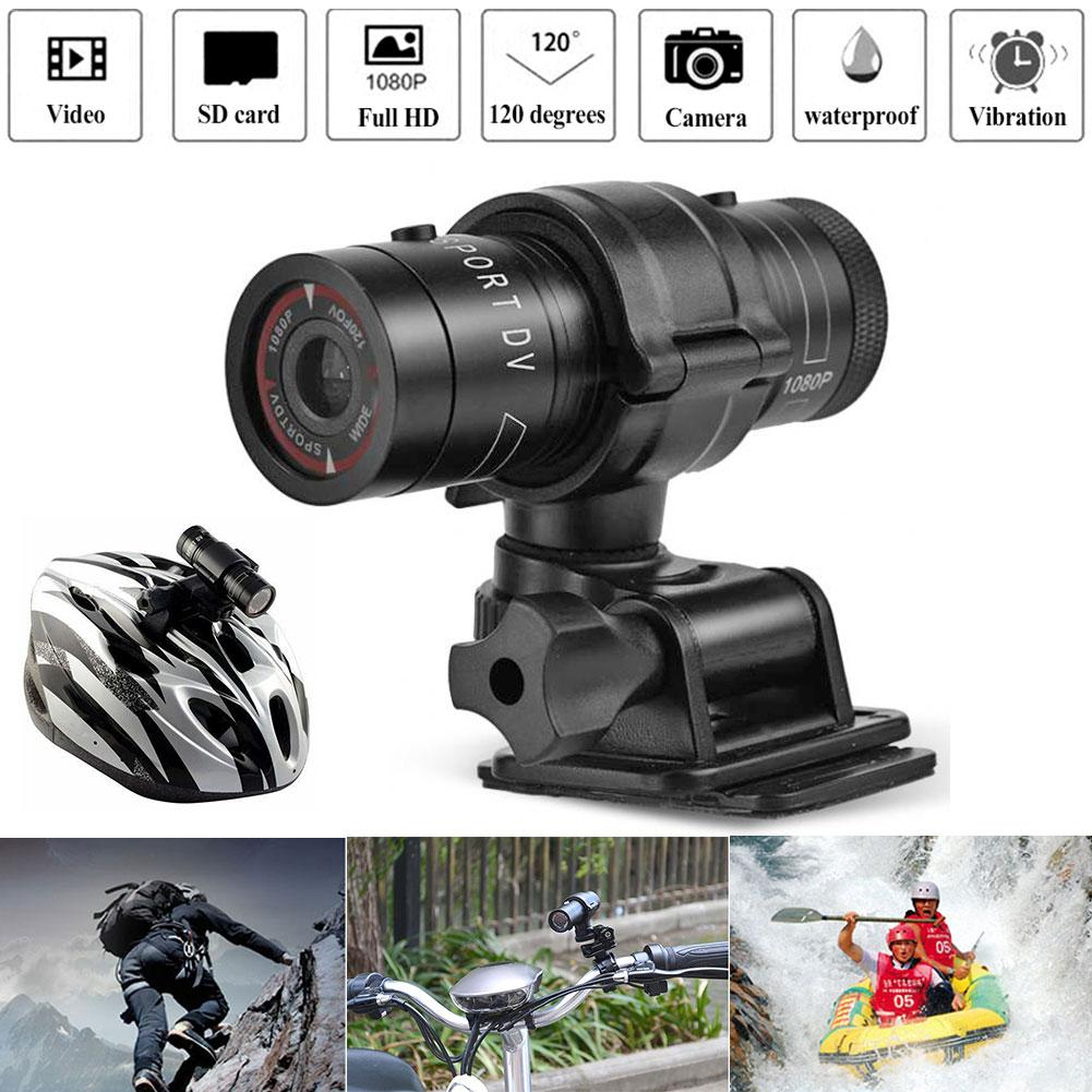 Full HD 1080P Mini Sports Camera Motorcycle Mountain Bike Bicycle Camera Helmet Action DVR Video Cam Motorcycle Camera Recorder