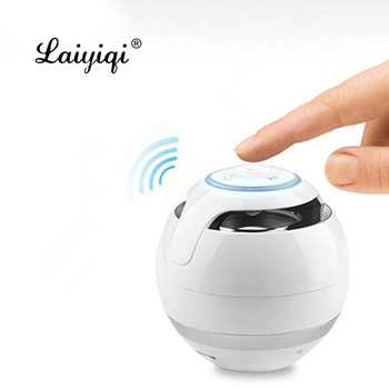 Laiyiqi handsfree mini Bluetooth Speaker subBass Subwoofer Portable Speakers bt woofer caixa de som Support TF Card ap mon