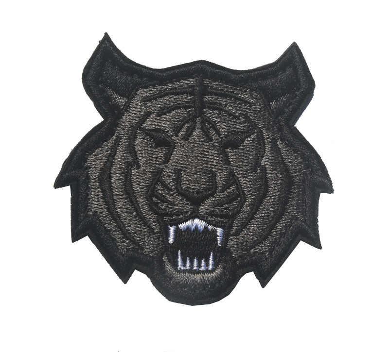 Dostawy towarów taktyczne małpa serii tygrys głowa smoka małpa hafty Banner na rzep kokarda na ramię godło