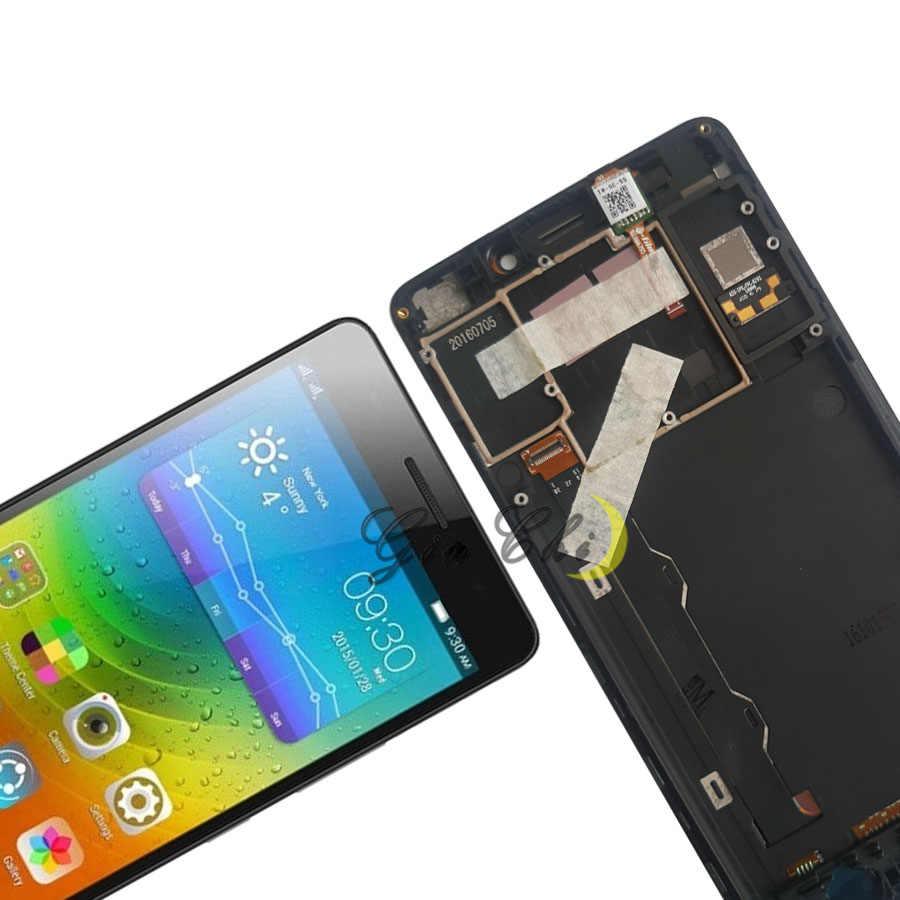 Yeni orijinal Lenovo A7000 LCD ekran dokunmatik ekran digitizer Lenovo K50 LCD çerçeve ile K50-T5 K3 not ekran yedek parçalar