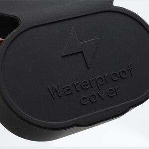 Image 5 - Araba şarj portu su geçirmez kapak şarj deliği silikon koruyucu modifikasyonu Tesla modeli 3 CCS ab oto araba aksesuarları