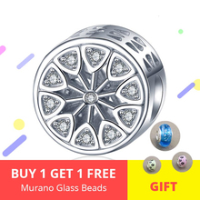 New Arrival Cute Ferris Wheel Charm 925 Sterling Silver Bead Fit Pandora Bracelet Women DIY Jewelry Accessorise