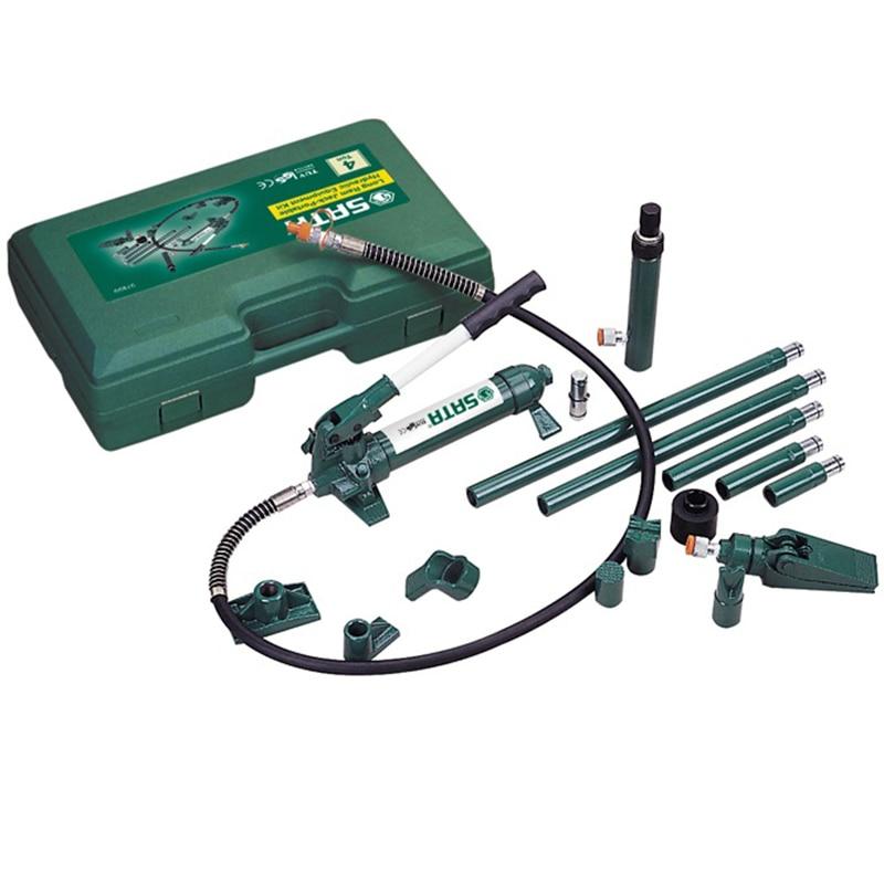 SATA 97899 Tool (set) 17пр. D/body Straightening Hydraulic Reservoir. The Case. Motorcycle Repair Tool