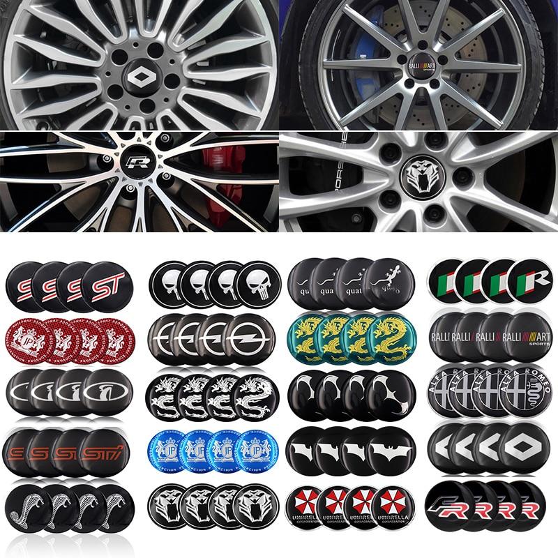 115.71руб. 50% СКИДКА|4 шт. 56,5 м Алюминиевый логотип Автомобильный колпачок для ступицы колеса для Лада BMW AUDI Mercedes Benz toyota LADA ford opel Renault Mazda|Наклейки на автомобиль| |  - AliExpress