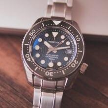 Proxima тунец подводные часы c3 полный светящийся серфинг циферблат