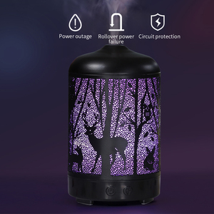 Image 2 - FUNHO 전기 공기 가습기 철 초음파 안개 제조 업체 아로마 에센셜 오일 디퓨저 아로마 테라피 홈 오피스 LED 라이트