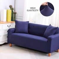 Housse de canapé élastique pour salon housse de canapé magique 1/2/3/4 places accoudoir sectionnel canapé d'angle housses extensible universel