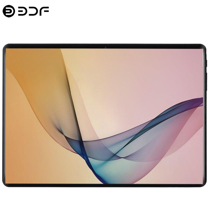 10.1 pouces tablette Android 8.0 3G appel téléphonique double carte SIM Octa Core 6 GB/64 GB Wi-fi Bluetooth GPS tablettes PC