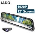 2021 JADO G840S Dashcam full hd двойной 1296P 12-дюймовый автомобильный видеорегистратор Камера линза дальнего света видео Регистраторы Dash Cam 24 часа в сутки ...