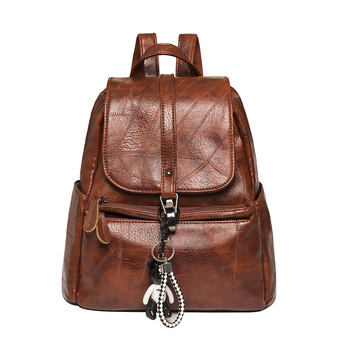 New Women Backpack High Quality Leather Lady Shoulder Bag Fashion School Bag For Teenage Girls Luxurious Backpack For Women manhan women backpack fashion backpack women 2020 high quality pu leather backpack female school bags for teenage girls