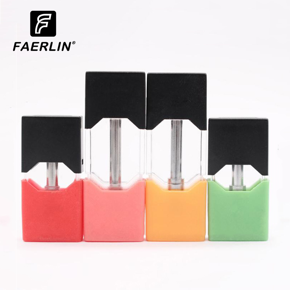 1PC Disposable Pods Universal For Juul Electronic Cigarette Vaporizer Kit 1ml  Spill Resistant Design Vape Pen Atomizer